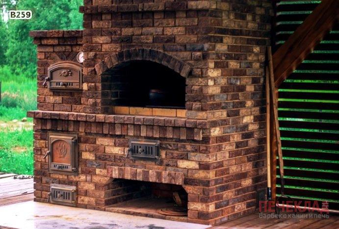 уличная хлебная печь