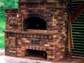 Фото: садовая печь с хлебной печкой