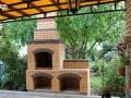 Уличный мангал с арками