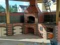 Уличная кухня барбекю