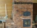 Печь-камин со столешницей