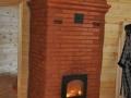 Печь в загородный дом из кирпича
