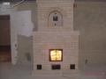 Печь - камин с декоративной аркой