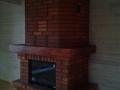 Кирпичный камин в дом