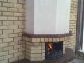 Кирпичный камин на улице