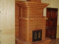 Печь колпаковая с двухстворчатой дверцей