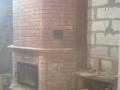 Печь с каминной дверкой