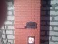 Отопительная печь с хлебной камерой