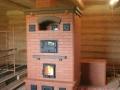Печь на дровах с духовкой