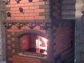 Русская печь для дома из красного кирпича