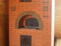 Русская печь с дверцей
