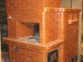 Мини русская печь из кирпича