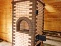 Печь из кирпича для отопления помещения