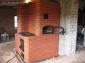 Печь с варочной панелью и духовкой из Лоде