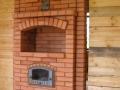 Печь отопительно варочная на твердом топливе