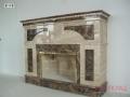 Камин с мраморным порталом