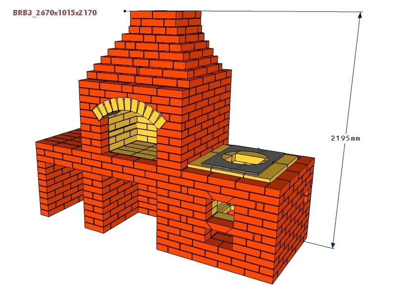 Проект беседочного камина-барбекю кладка барбекю самим