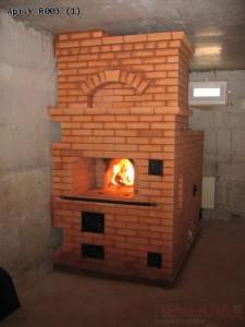 Русская печь из кирпича