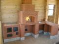 Казан с дополнительной духовкой и мангал в дом
