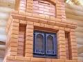 Каминопечь в дом из бруса