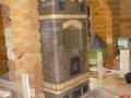 Каминопечь из Лоде с варочной
