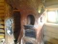 Печь декоративная, лепнина