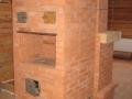 Печь с камином и варочной плитой