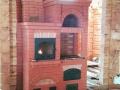Печка с духовкой и варочной панелью