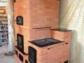 Отопительная печь с отделкой