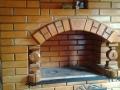 Печь с резным кирпичем, фото 2