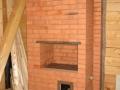 Недорогая печь шведка на дровах