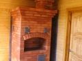 Печь на дровах из кирпича