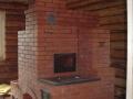 Печь варочная с камином для дома