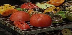 овощи гриль со спецыями