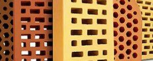 Щелевой, облицовочный кирпич со сквозными отверстиями