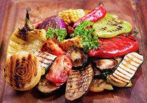 Гриль овощи